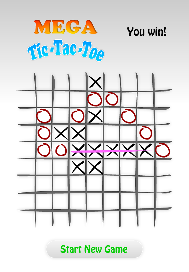 Screenshot Mega Tic-Tac-Toe 9×9 Full